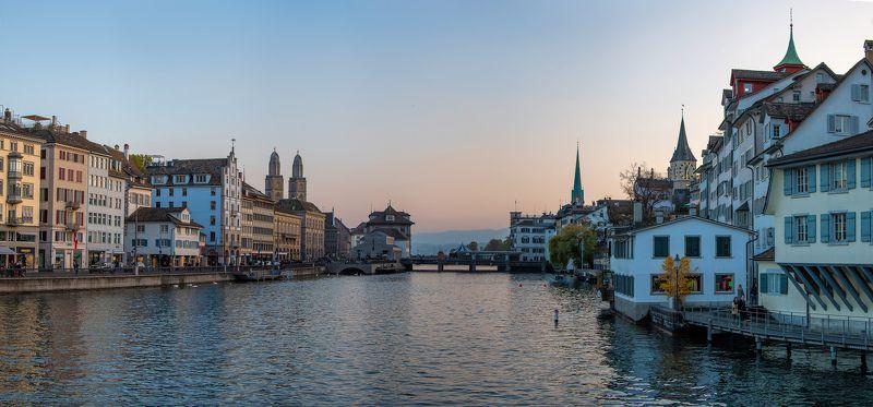 Вечерний Цюрихphoto preview