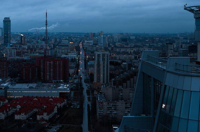 городской пейзаж, пейзаж, рассвет, Екатеринбург, Городской пейзаж.photo preview