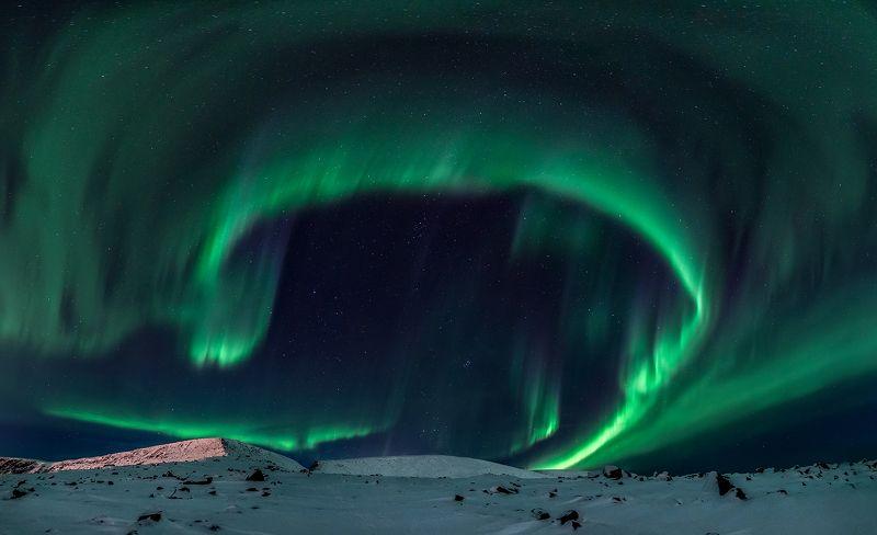 хибины, мурманск, кировск, северное сияние, полярное сияние, aurora borealis, night, stars Солнечный ветерphoto preview