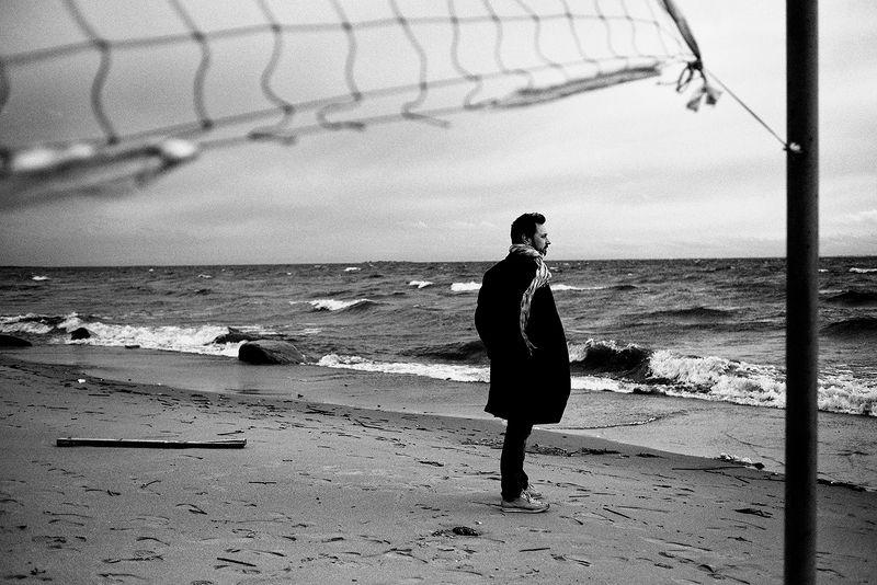 море, мужчина photo preview