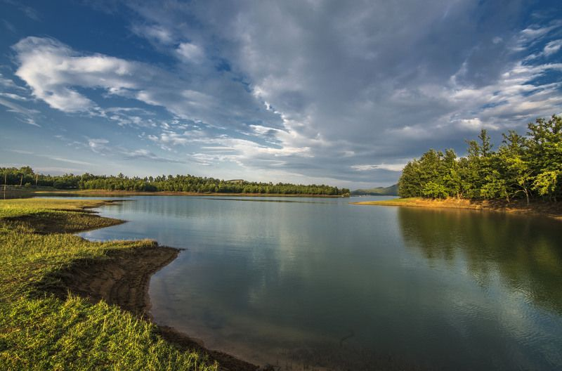 Landscape Lake Plastiraphoto preview
