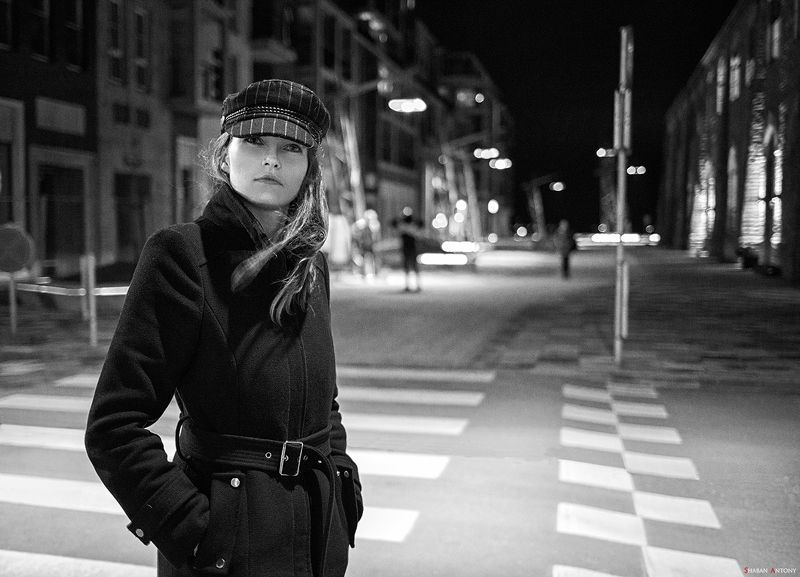 canon ef 35 f/2 is, shaban antony, canon 5d, portrait, black and white Катяphoto preview