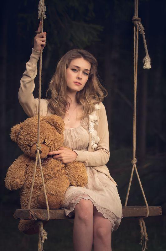 портрет, девушка Лизаphoto preview