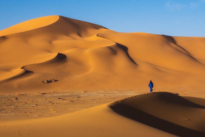 алжир, сахара, тадрарт, джанет, туарег, песок, пустыня, дюны Туарег - хозяин пустыниphoto preview