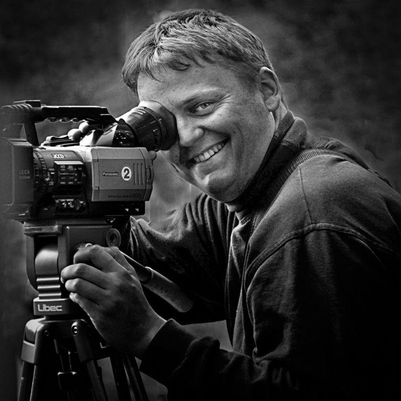оператор, мужчина, портрет операторphoto preview