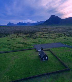 Черная церковь, Исландия