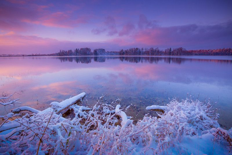 зима,озеро ***photo preview