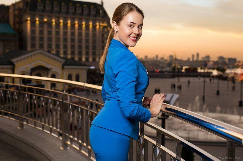 kiev, sexy, ukraine, girl, model, studio, light, colors, street, sunset, blue, suit, portrait AfterHoursphoto preview