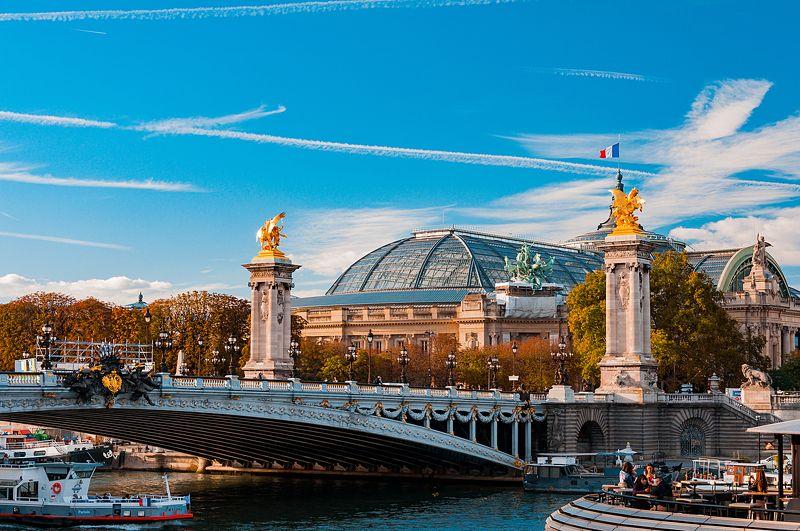 paris, sky, pont, alexandre, iii PARIS pont alexandre iiiphoto preview