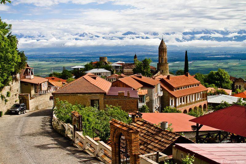 город, сигнахи, грузия, алазанская долина, горы, путешествия, georgia. signahi Сигнахиphoto preview