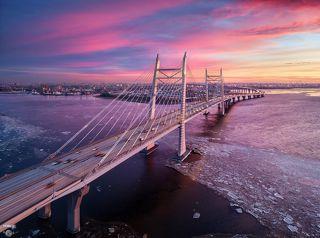 ЗСД, мост через Корабельный фарватер
