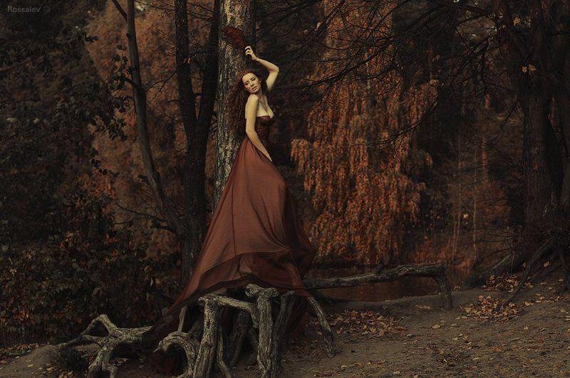 rossalev, beauty, portrait Autumn floweringphoto preview