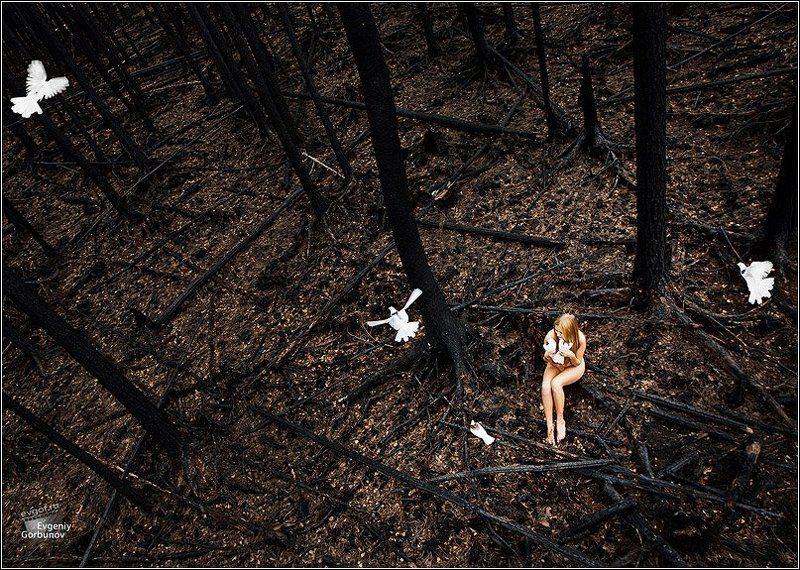 планета, опустошение, модели, ню photo preview