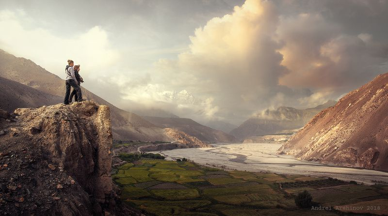 верхний мустанг, непал, nepal, upper mustang, landscape, mountains Весь мир у твоих ног...photo preview