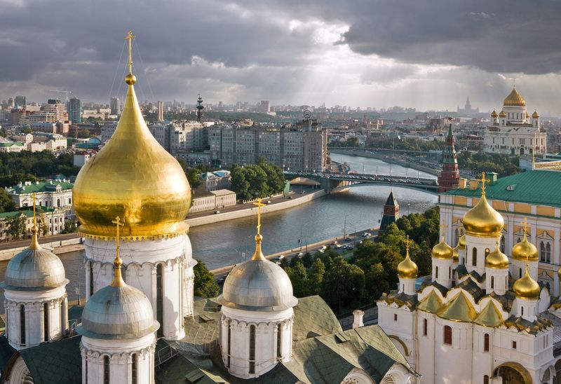 колокольня ивана великого, кремль, москва РЕДКИЙ ВИД НА МОСКВУ ( с колокольни Ивана Великого в Кремле)photo preview