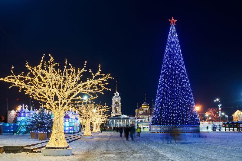 Тула новогодняя столица Россииphoto preview