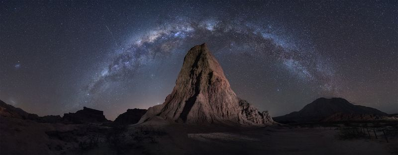 milkyway  night stars mountain Paramount dreamsphoto preview