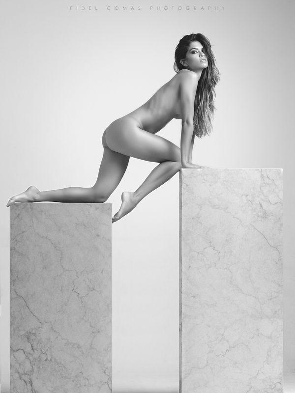 model, nudeart, studio, monochrome, hasselblad Meke me cryphoto preview