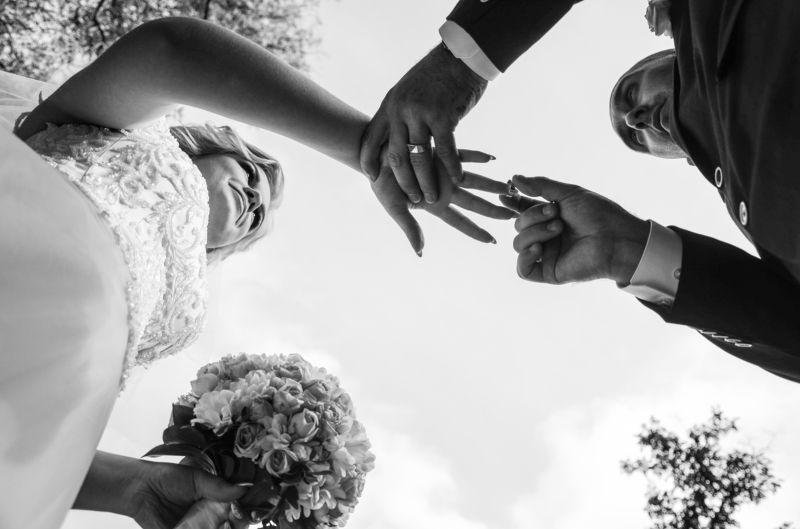 любовь, свадьба, жених, невеста, обручальное кольцо Она сказала \