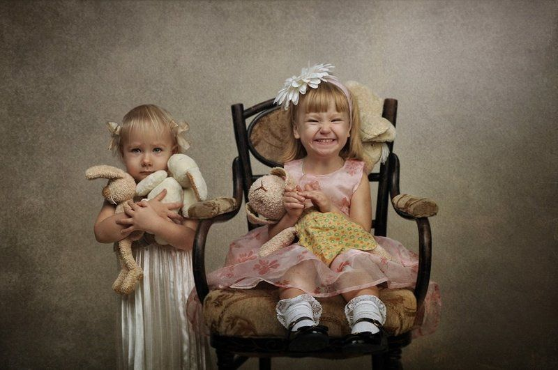 портрет, девочки, дети, игрушки, annaprimki.ru **photo preview