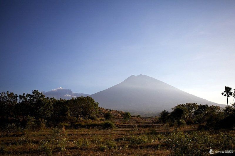 bali, indonesia, agung, mountain, volcano Agungphoto preview