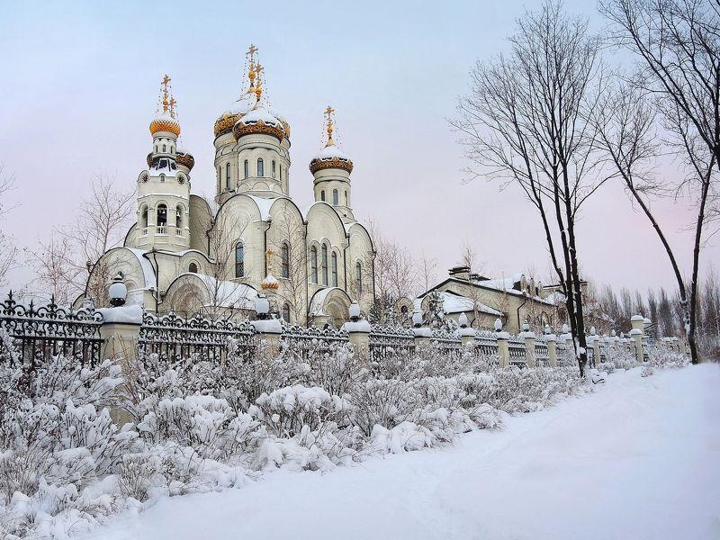Горловка - Богоявленский кафедральный соборphoto preview