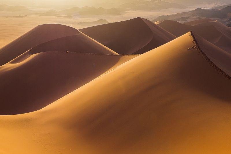 африка, сахара, тадрарт, дюны, песок, рассвет, алжир Девятый валphoto preview
