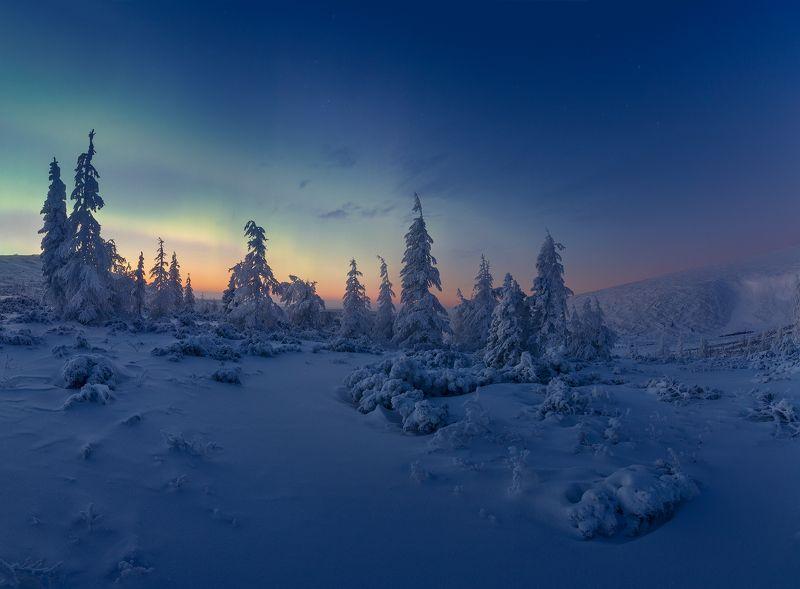 Тиха Якутская ночь...photo preview
