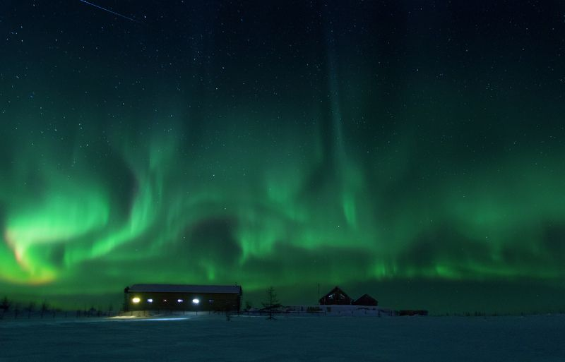 ямал, салехард , северное сияние,ямал ,янао, ночь, природа ,полярный урал, aurora, russia \