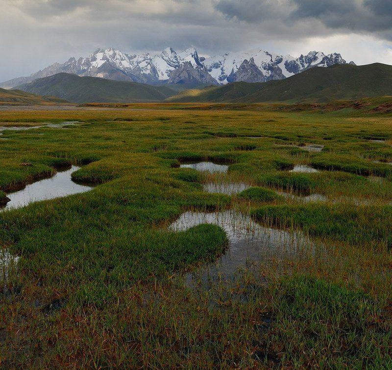 киргизия, плато, горы, кок-кия плато Кок-Кияphoto preview