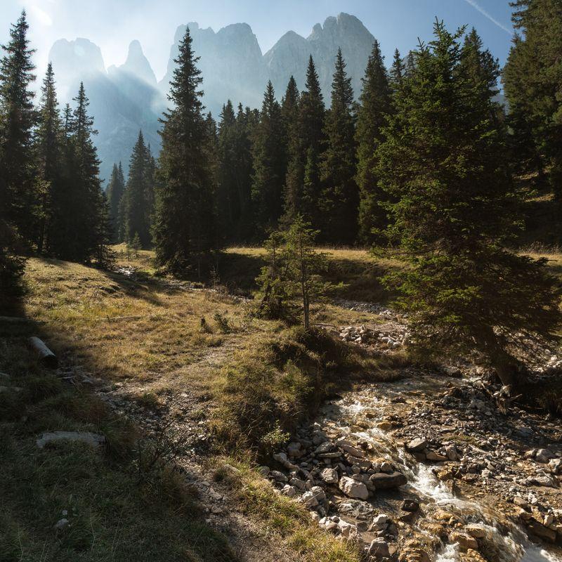 горы; скалы; осень; лес Лес просыпаетсяphoto preview