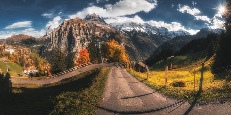 switzerland,landscape,panorama,mountains,apls Murren scapephoto preview
