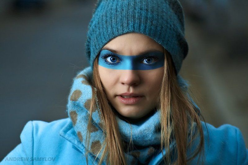 one light photography, strobism, fashion, portrait, andrew samylov, thanks to, zack arias, mask Маскаphoto preview