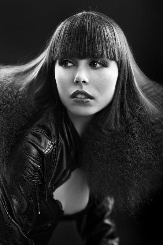portrait, model, hair, studio, beauty ...photo preview
