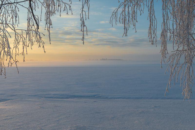#пейзаж #природа #рассвет #зима #мороз #деревья #туман #снег Морозное, туманное утроphoto preview