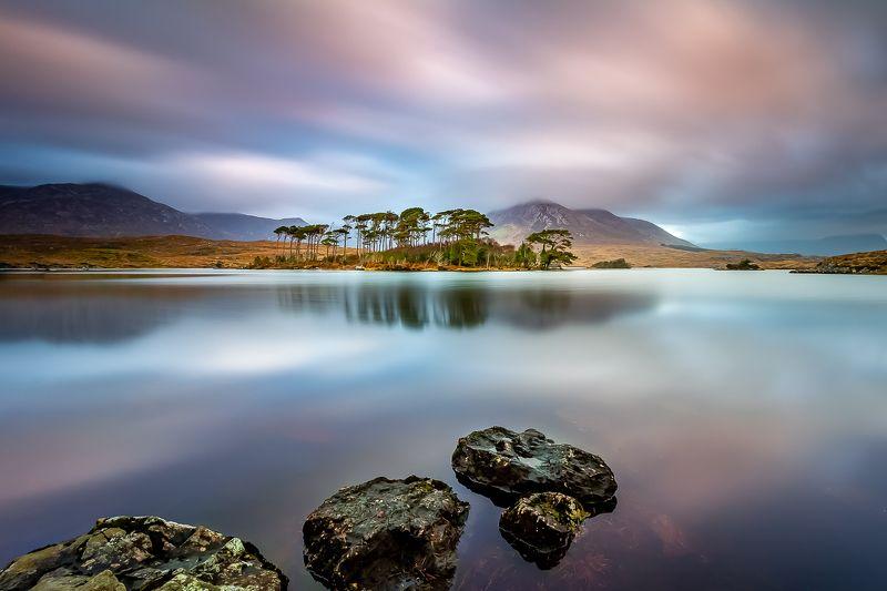 landscape, longexposure, sunrise, ireland, reflection Connemaraphoto preview