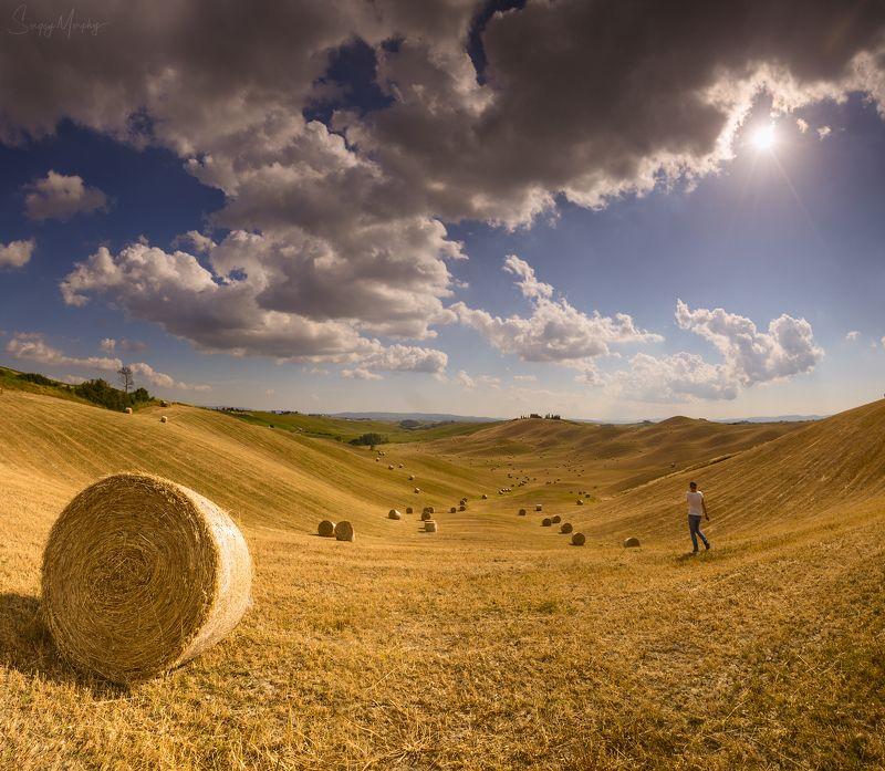 tuscany italy fields Tuscany fields.photo preview