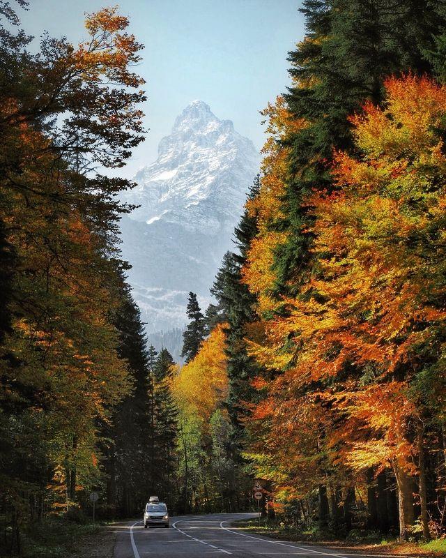 домбай, кавказ, белалакая Осенний Домбайphoto preview
