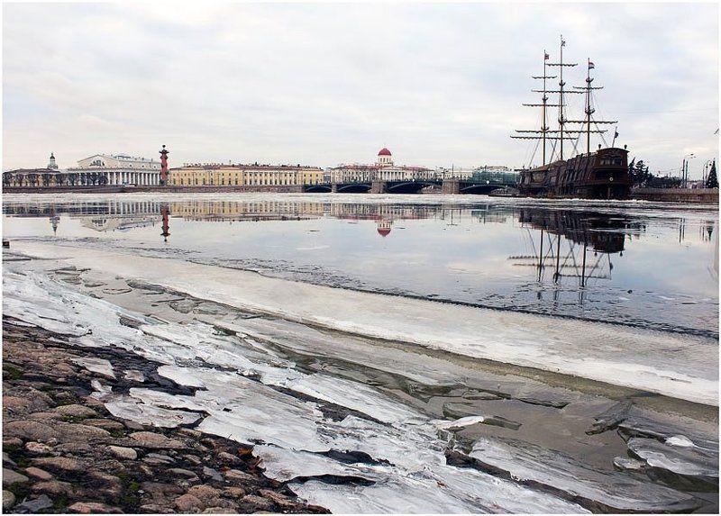 санкт-петербург, летучий голландец Несколько дней зимы...photo preview