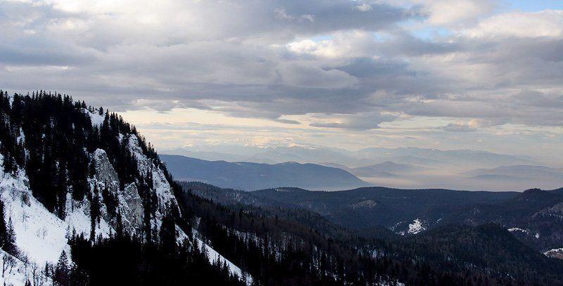 босния, горы, снег, туман Босния #3photo preview