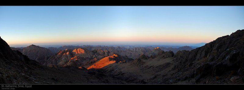 синай, египет, горы Синайphoto preview