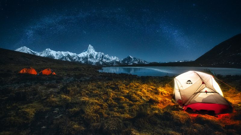 Camping at 4550 metresphoto preview