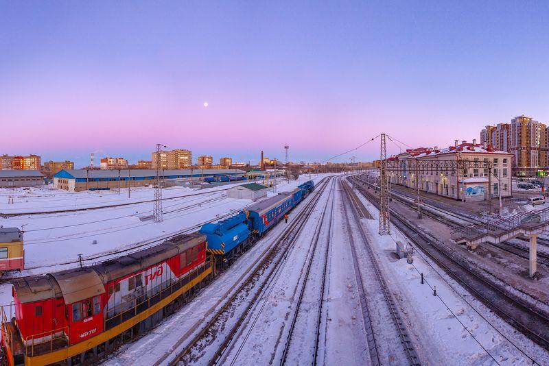 рязань,поезд,ж.д. Вечерний экспрессphoto preview