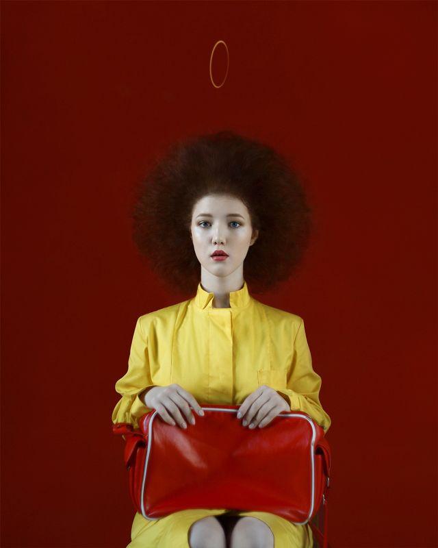 portrait, art Гестия. Yphoto preview