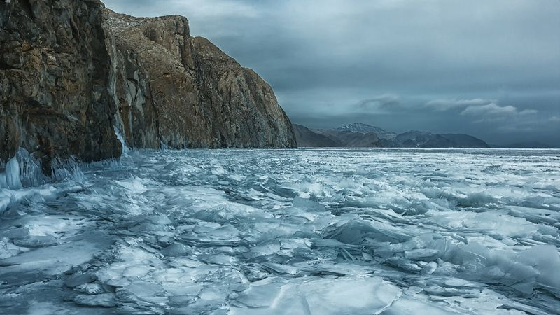 Торосы на Байкалеphoto preview