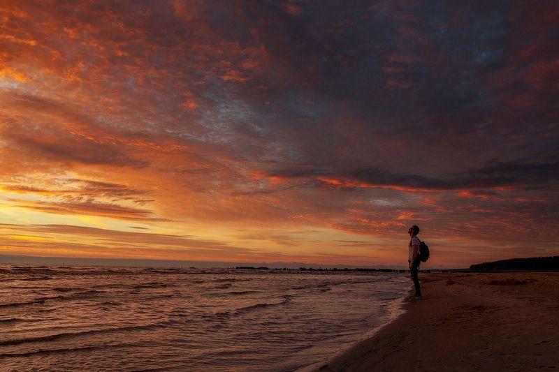 landscape, sunset, sky, nature knocking on heavens doorphoto preview