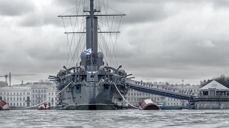 крейсер, корабль, день защитника отечества, аврора, санкт-петербург, море, корабли, балтика Крейсер 1 рангаphoto preview