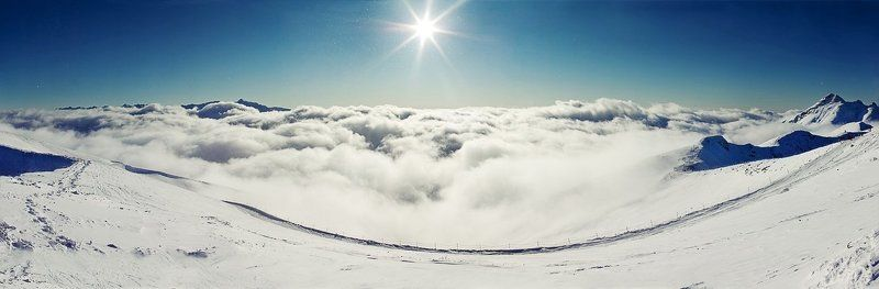 горы, тучи, небо без названияphoto preview