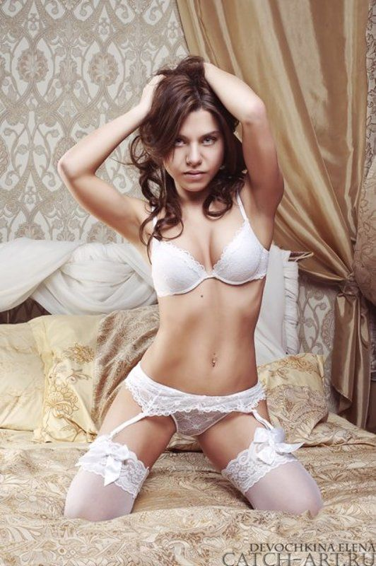 girl, sexy, kitty, bed, undressed, underclothes Екатеринаphoto preview