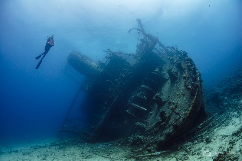 underwater, photography, wreck, egypt, magic filter, ship, model Exploringphoto preview